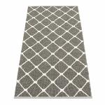 Tapis Rex Charcoal Vanille 70x160 cm Pappelina