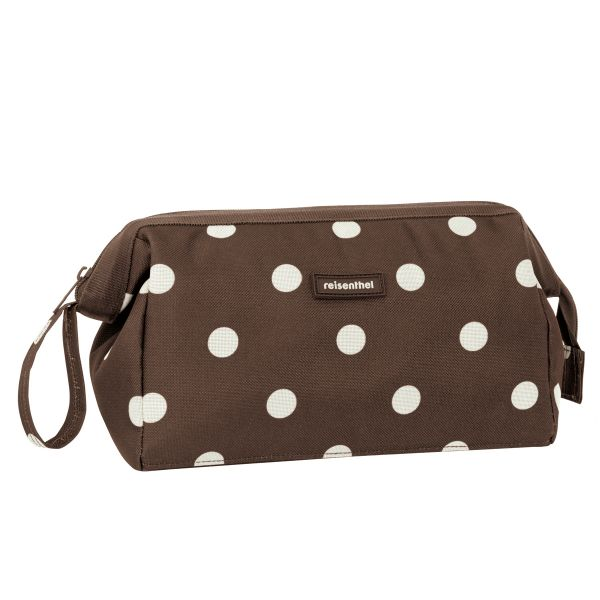 Trousse de Toilette Travel Cosmetic Bag Choco Pois Reisenthel